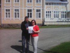 сертифікат з рук вчителя